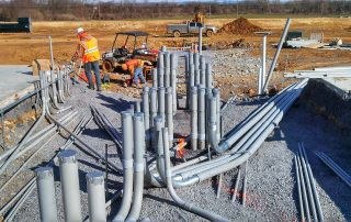 Outdoor Electrical Pipes