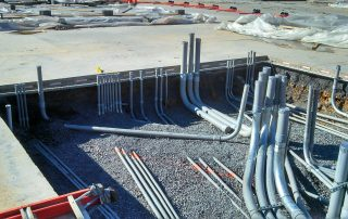 Outdoor PVC Electrical Pipes